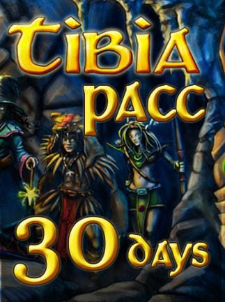 Tibia PACC Premium Time Cipsoft GLOBAL 30 Days Code - box