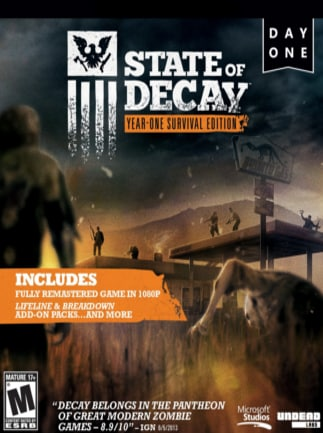 State of Decay: YOSE Day One Edition Steam Key GLOBAL - box