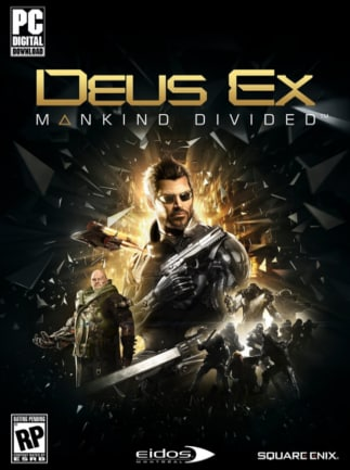 Deus Ex: Mankind Divided Steam Key GLOBAL - box