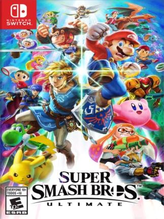 Super Smash Bros. Ultimate Nintendo Key Nintendo Switch EUROPE - box