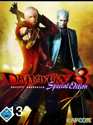 Devil May Cry 3 Special Edition Steam Key GLOBAL - box