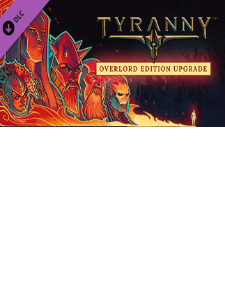 Tyranny - Overlord Edition Upgrade Pack Key Steam GLOBAL