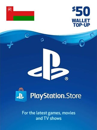 PlayStation Network Gift Card 50 USD - PSN OMAN
