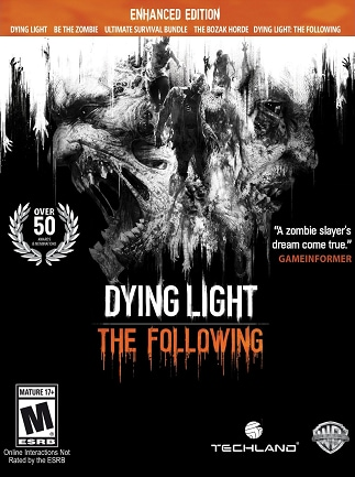 Amazing Dying Light: The Following   Enhanced Edition Steam Key GLOBAL