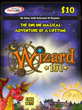 Wizard 101 Gift Card 10 USD Code - G2A COM