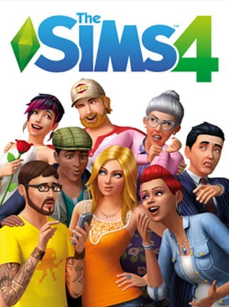 The Sims 4 Origin Key GLOBAL - box