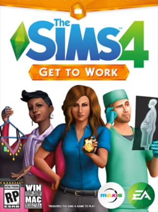 The Sims 4: Get to Work - Xbox One - Key GLOBAL