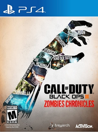 Call of Duty: Black Ops III - Zombies Chronicles Key PSN PS4