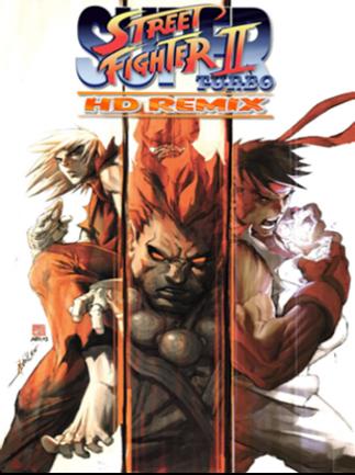 Super Street Fighter II Turbo HD Remix PSN Key PS3 NORTH AMERICA