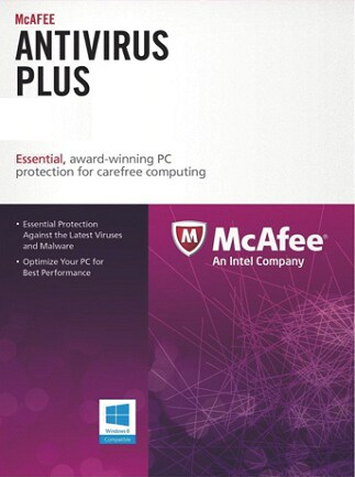 McAfee AntiVirus Plus 1 Device 1 Year Key GLOBAL