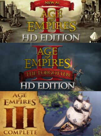 Age of Empires Legacy Bundle Including The Forgotten Steam Key GLOBAL -  G2A COM