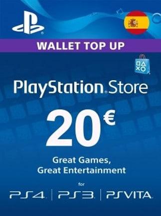 Playstation Network Gift Card 20 Eur Psn Spain G2a Com