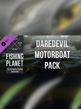 Fishing Planet: Daredevil Motorboat Pack Steam Gift GLOBAL