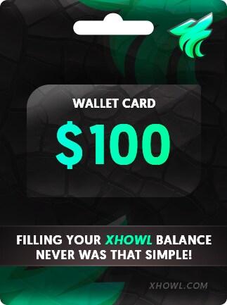 XHOWL CARD 100 USD