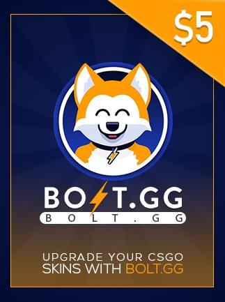 Bolt.GG 5 USD Code