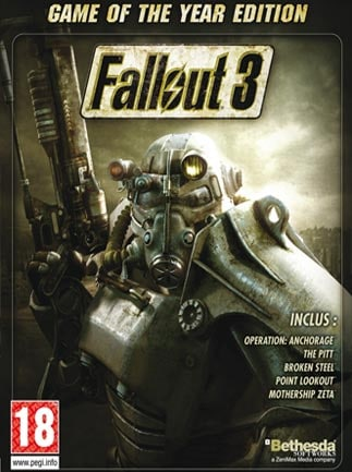 Fallout 3 - Game of the Year Edition Steam Key GLOBAL - box