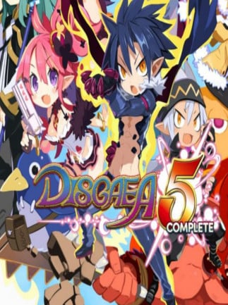 Disgaea 5 Complete Steam Key GLOBAL - box