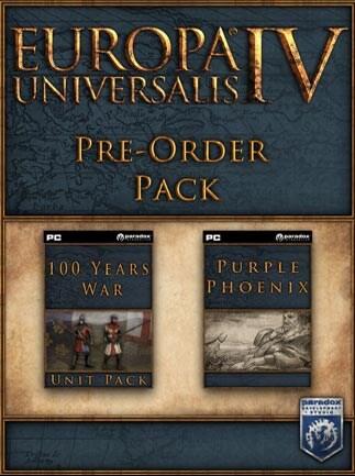 Europa Universalis IV: Pre-Order Pack Steam Key GLOBAL