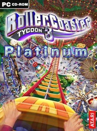 RollerCoaster Tycoon 3: Platinum Steam Key GLOBAL - box