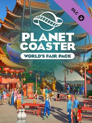 Planet Coaster - World's Fair Pack (PC) - Steam Key - EUROPE