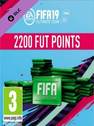 FIFA 19 2200 FUT Points Origin GLOBAL Key
