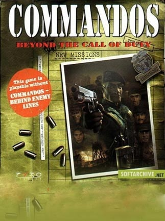 Commandos: Beyond the Call of Duty Steam Key GLOBAL