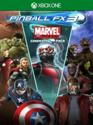 Pinball FX3 - Marvel Pinball: Cinematic Pack XBOX LIVE Key XBOX ONE EUROPE  - G2A COM