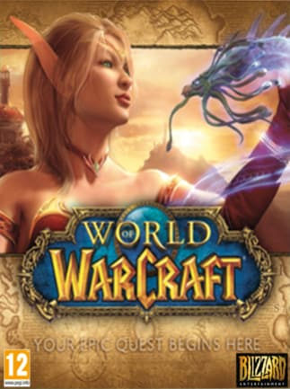 World of Warcraft Battle Chest 30 Days EUROPE Battle.net - box
