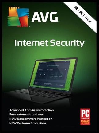 Buy Avg Internet Security 1 User 1 Year License Key Pc