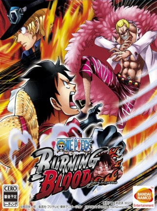 One Piece Burning Blood Steam Key GLOBAL - box