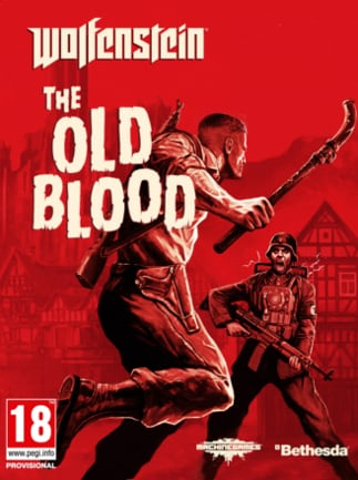 Wolfenstein: The Old Blood PSN Account PS4 GLOBAL - box