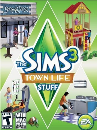 The Sims 3 Town Life Stuff Origin Key GLOBAL - Box