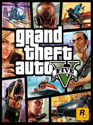 Grand Theft Auto V Rockstar Key GLOBAL - caja