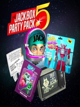 The Jackbox Party Pack 5 Steam Key GLOBAL - G2A COM