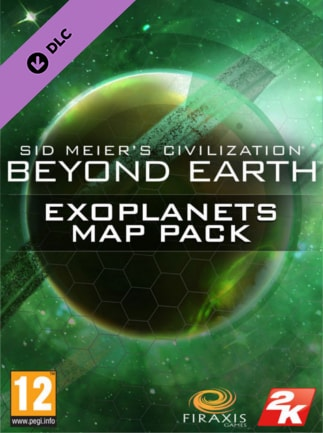 Sid Meier's Civilization: Beyond Earth Exoplanets Map Pack Steam Key GLOBAL