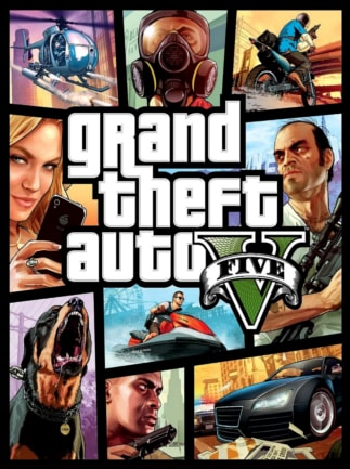 Grand Theft Auto V: Premium Online Edition & Megalodon Shark Card Bundle (PC) - Rockstar Key - GLOBAL