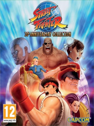 Street Fighter 30th Anniversary Collection (PC) - Buy Steam Game Key
