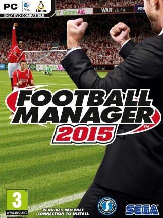 Football Manager 2015 Steam Key GLOBAL - box