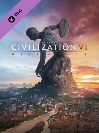 Sid Meier's Civilization VI: Rise and Fall DLC Steam Key RU/CIS