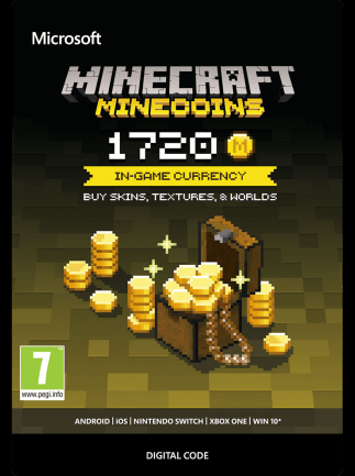 Minecraft: Minecoins Pack Minecraft GLOBAL 1 720 Coins