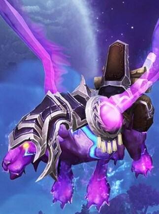World of Warcraft Mystic Runesaber Mount Blizzard Key NORTH AMERICA