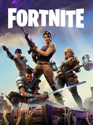 Fortnite standard edition Epic Games Key PC GLOBAL - box