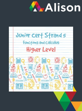 Junior Certificate Strand 5 - Higher Level - Functions and Calculus Alison Course GLOBAL - Digital Certificate - box