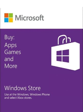 Windows Store Gift Card 25 EUR - Microsoft Key - EUROPE