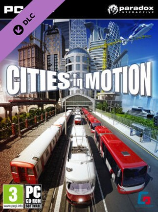 Cities in Motion - Design Classics Steam Key GLOBAL