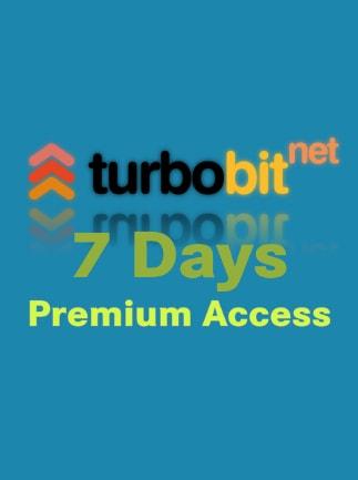 TURBOBIT NET PREMIUM Code GLOBAL 7 Days - G2A COM