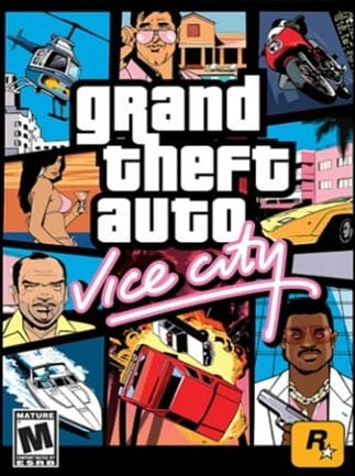 Grand Theft Auto: Vice City Steam Key GLOBAL - box