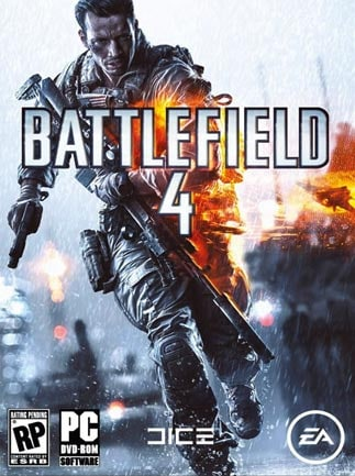 Battlefield 4 (ENGLISH ONLY) Origin Key PC GLOBAL - box