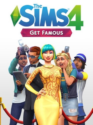 The Sims 4: Get Famous Origin Key GLOBAL - box