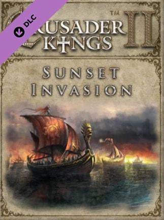Crusader Kings II - Sunset Invasion Steam Key GLOBAL